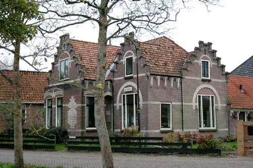 De Essenburg- voorhuis